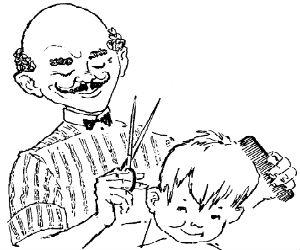 Gazmore(Humor) Barber_femija